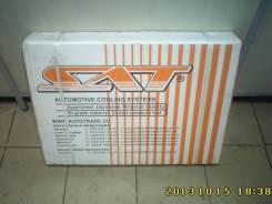 Радиатор охлаждения двигателя. Ford Ixion Mazda Premacy, CP8W Двигатель FPDE