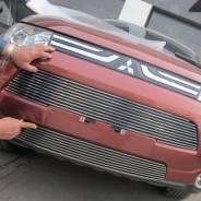Молдинг решетки радиатора. Mitsubishi Outlander. Под заказ