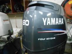 Yamaha. 80,00л.с., 4х тактный, бензин, нога L (508 мм), Год: 2005 год