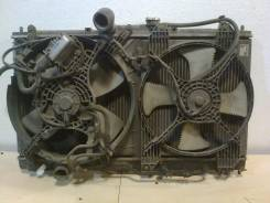 Радиатор охлаждения двигателя. Mitsubishi Legnum, EA3W Двигатель 4G64