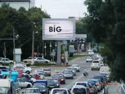 Уличный видеомонитор на перекрестке ул. Ковтюха/ ул. Школьная. Славянс