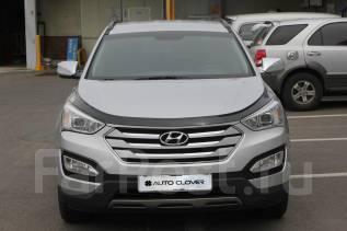 Дефлектор капота. Hyundai Santa Fe, DM