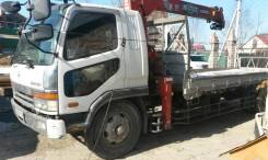 Mitsubishi Fuso Fighter. MMC Fuso Fighter, борт+кран. фусо, 7 500 куб. см., 8 000 кг.