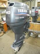 Yamaha. 40,00л.с., 4х тактный, бензин, нога L (508 мм), Год: 2004 год