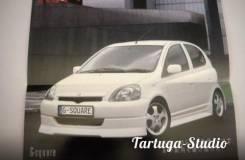 Обвес кузова аэродинамический. Toyota Vitz, SCP10