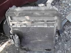 Радиатор охлаждения двигателя. Isuzu Elf, NKS81G Двигатель 4HL1