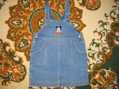 Сарафаны джинсовые. Рост: 104-110, 110-116, 116-122 см