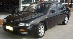 Nissan Bluebird. EU13, SR18DE