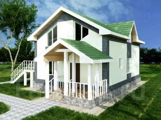 Продам готовый проект дома. 100-200 кв. м., 2 этажа