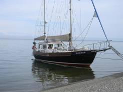 Круизная парусная 2х мачтовая , алюминиевая яхта. Длина 12,00м., Год: 2007 год
