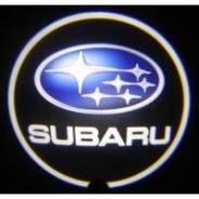 """Светодиодная подсветка на дверь с логотипом """"Subaru"""""""
