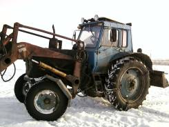 МТЗ 80. Трактор мтз-80 с куном