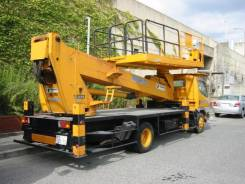 Услуги автовышек (площадке) 21 метр и кранов 7-16 тон