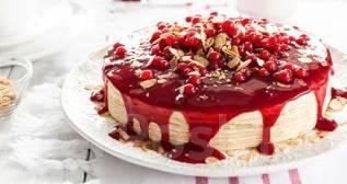50% скидка на готовые торты и торты на предзаказ. Акция длится до 23 августа