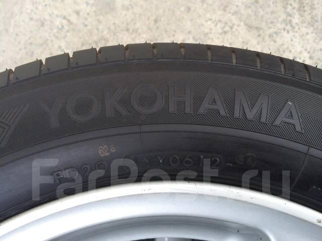 Yokohama. Летние, 2012 год, без износа, 4 шт