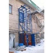 Шахтный подъёмник Титан для производства, склада, магазина