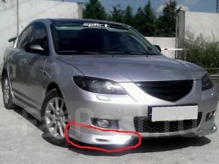 Обвес кузова аэродинамический. Mazda Mazda3