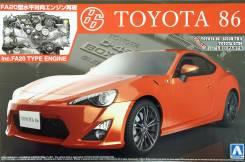 Сборная модель Toyota 86 + двигатель (1/24). Под заказ