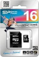 MicroSD. 16 Гб, интерфейс microSDHC
