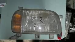 Фара на Nissan March K11 14-57 Правая