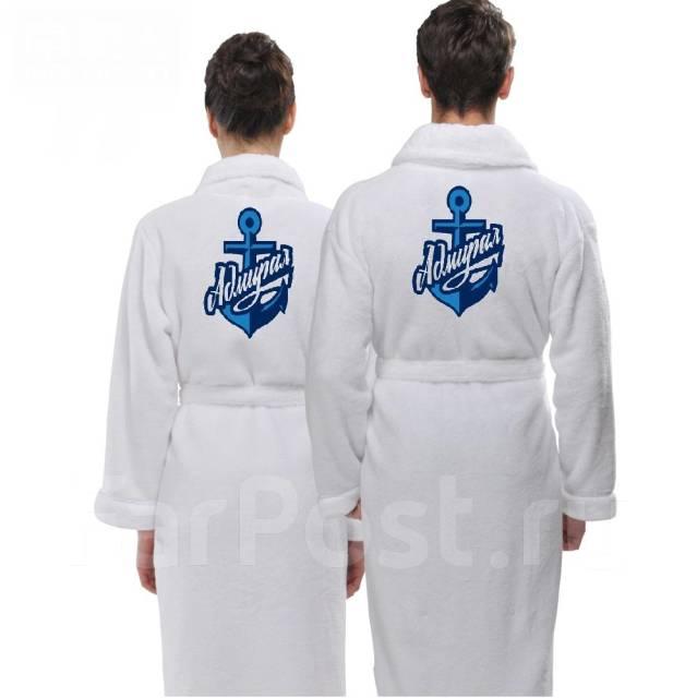 Именные халаты с вышивкой фото
