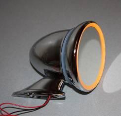 Зеркало bullet style со светодиодной подсветкой