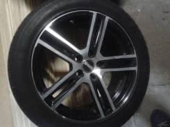 Шикарные новые диски R-17 резина континенталь спорт 235/45/17. 7.5x17 5x112.00 ET36