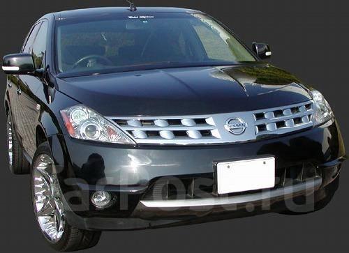 Накладка на бампер. Nissan Murano