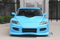 Обвес кузова аэродинамический. Mazda RX-8