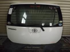 Дверь багажника. Toyota Passo, KGC10
