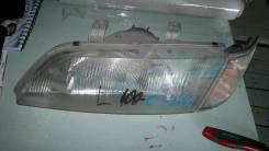 Фара 100-63396 с габаритом 21063396 на Nissan Primera P11 левая