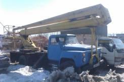 ГАЗ 53. Автовышка, 18 м.