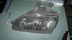 Фара 0336617 на Honda Civic Ferio EG1, EG3, EG4 EG5, EG6 EG7, EG8, левая