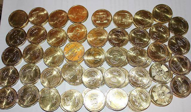 Набор монет гвс россии заказ монет