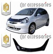 Дефлектор капота. Honda Jazz, UCS69DWH, GD5, GD1, 01, 06 Двигатели: 4JG2, L12A, L13A