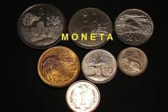Набор монет Зимбабве. 7шт.