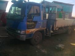 Hino Ranger. Продаю грузовик с краном., 7 991 куб. см., 5 000 кг.