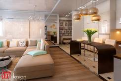 "ЖК ""Два капитана"". Спальня за стеклом от Студии ""Ин Дизайн"". Тип объекта квартира, комната, срок выполнения месяц"