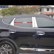 Накладка на стойку. Hyundai Santa Fe, DM. Под заказ