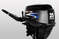 Parsun. 25,00л.с., 4х тактный, бензин, нога S (381 мм), Год: 2013 год