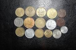 Подборка монет 16 штук, для начинающих.
