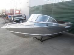 Windboat-46. Год: 2014 год, длина 4,55м., двигатель подвесной, 50,00л.с., бензин