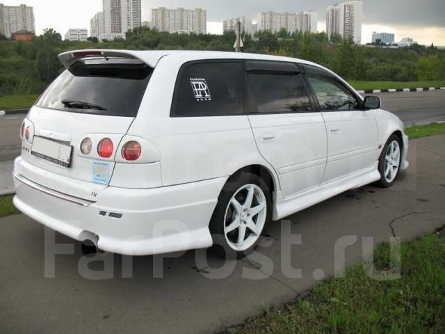 Накладка на бампер. Toyota Caldina, ST210G, ST215G, ST215W, ST215, ST210