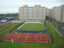 Поставка и проф монтаж искусственной травы для спортивных площадок