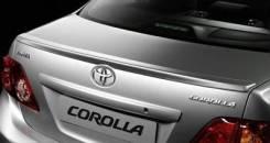Накладка на спойлер. Toyota Corolla