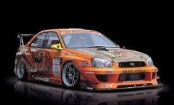 Бампер. Subaru Impreza WRX, GDB, GD, GDA