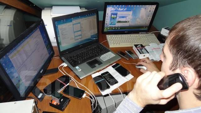 Ремонт телефонов, замена экрана iPhone Айфон Samsung s 7 6s 5s Sony