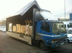 Mitsubishi Fuso. Продам Fuso кубатурник 45 м3 бабочка, 8 100 куб. см., 5 000 кг.