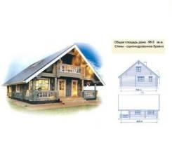 Проект сруба для деревянного дома