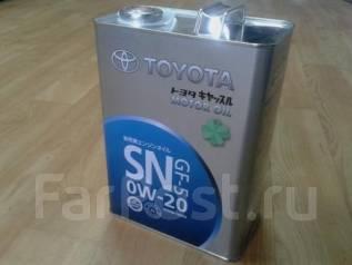 Toyota. Вязкость 0w20
